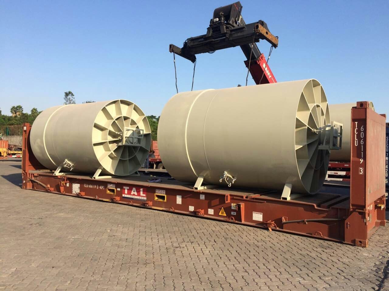 BETA LOGISTICS LIMITED loaded  ball  mills  at Xiamen