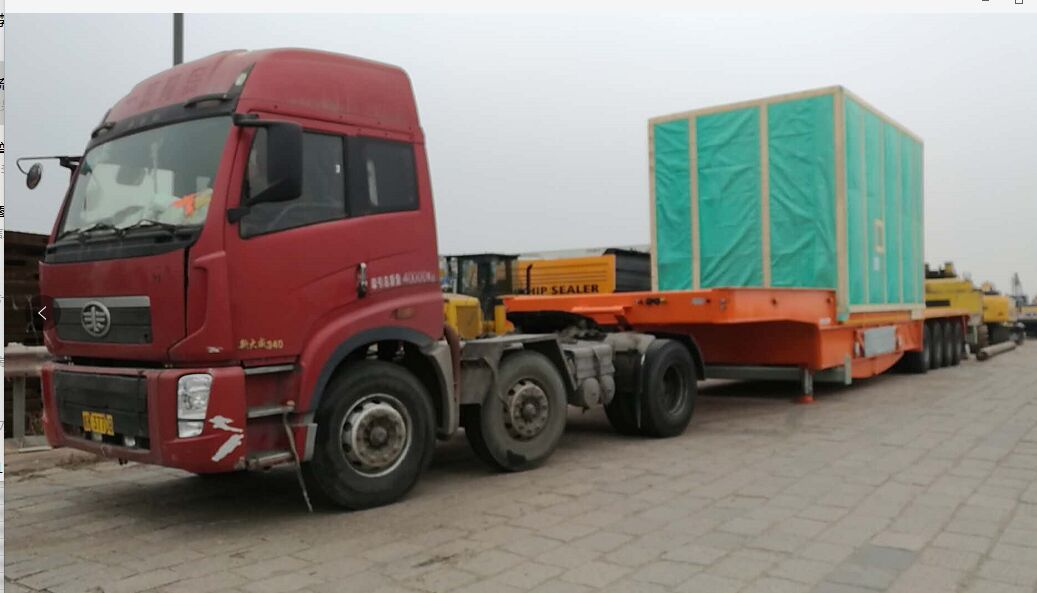 TUBING TRAILER & COILED TUBING  Shipped  on  Break bulk